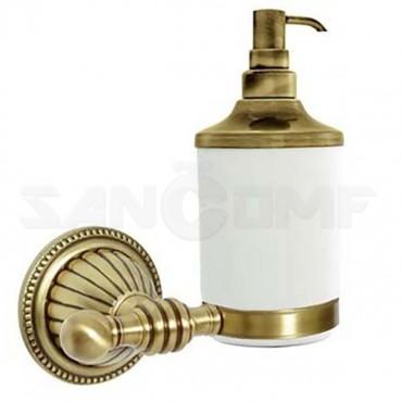 Дозатор жидкого мыла Boheme Hermitage 10337 бронза