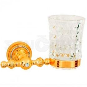 Стакан подвесной Boheme Imperiale 10404 gold