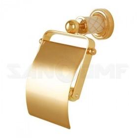 Держатель туалетной бумаги Boheme Murano Gold 10901