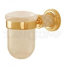 Стакан подвесной Boheme Murano Gold 10904