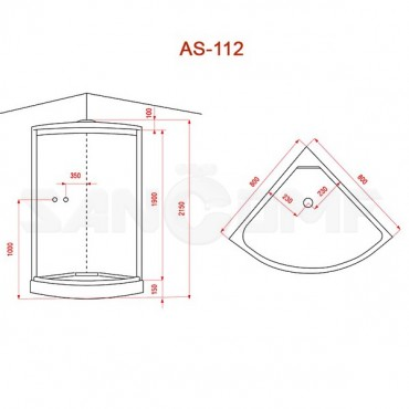 Душевая кабина Arcus AS-112