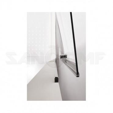 Cezares Eco B-1-80-P-Cr душевая дверь в нишу