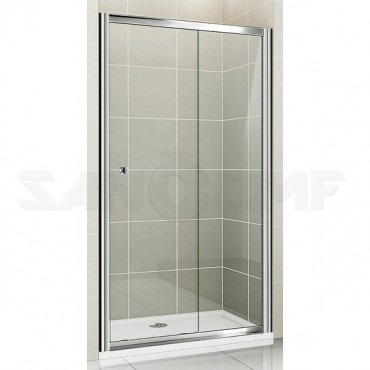Cezares Pratico BF1 100 C Cr душевая дверь в нишу