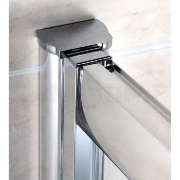 Cezares Pratico BF1 100 P Cr душевая дверь в нишу