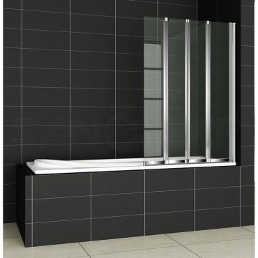 Cezares Pratico V4 100/140 C Cr R/L шторка на ванну