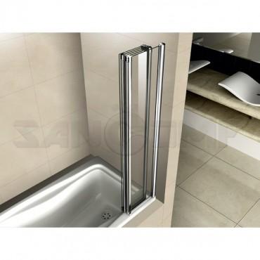 Cezares Pratico V5 120/140 P Cr L/R шторка на ванну