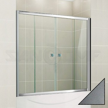 Cezares Pratico VF2 150/140 P Cr шторка на ванну