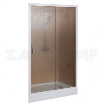 Cezares Rosa BF1 120 RO Bi душевая дверь в нишу