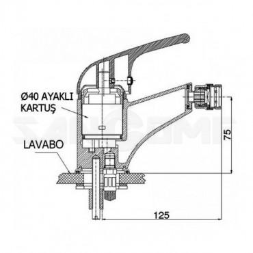 GPD Kalipso MBD20 смеситель для биде