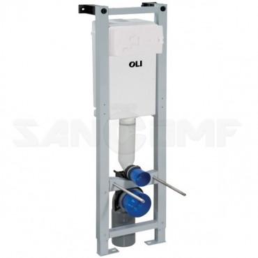 Система инсталляции для унитазов OLI Quadra Sanitarblock 280490m механическая