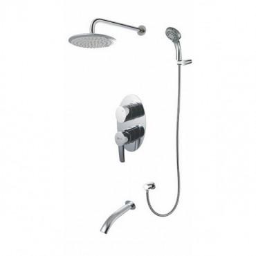 Lemark Atlantiss LM3222C смеситель для ванны и душа