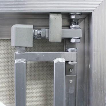Алюминиевый люк невидимка Серия ALR под плитку
