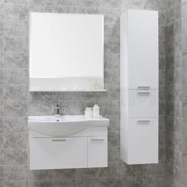 Мебель для ванной Акватон Инди 80 белый (Цена указана за тумбу и умывальник)