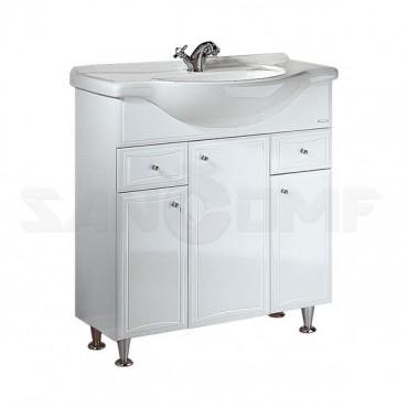 Aqwella Барселона Люкс 75 мебель для ванной - цена указана за раковину и тумбу с б/к