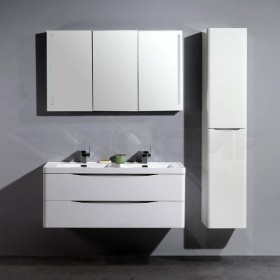 BelBagno Ancona-N 120 bianco lucido