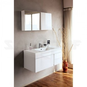 BelBagno Luce 100 bianco lucido