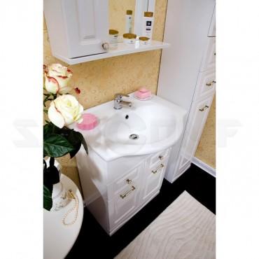 Мебель для ванной Бриклаер Анна 60 белая