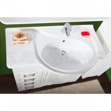 Мебель для ванной Бриклаер Анна 90 белая