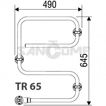 PAX TR – электрический полотенцесушитель для любой ванной