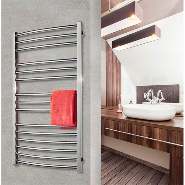 Водяной полотенцесушитель Calma Grota для ванной комнаты.