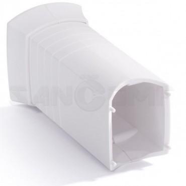 ТЭН для полотенцесушителя Terma MEG-1.0 300W с маскировочным элементом RAL9016