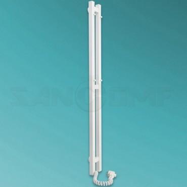 Электрический полотенцесушитель LARIS («ЛАРИС») Прайм Дуэт П2 1200х800 белый