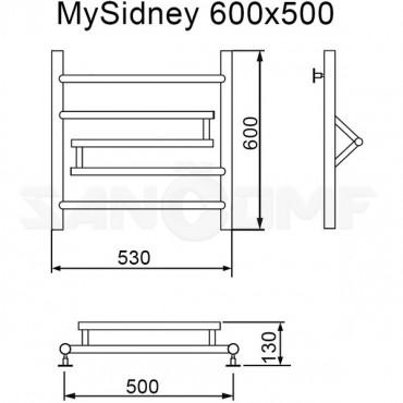 Полотенцесушитель водяной MyFrea MySidney