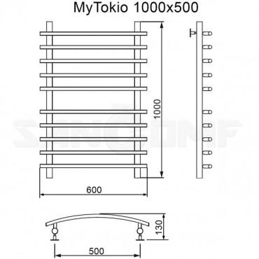 Полотенцесушитель водяной MyFrea MyTokio