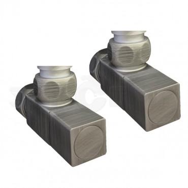 Полотенцесушитель водяной ПК Ника (Nika) Modern ЛМ 7Matt Antique Silver