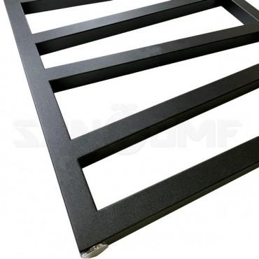 Полотенцесушитель электрический Terma Zigzag Metallic Black
