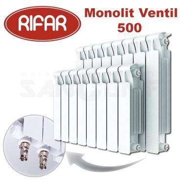 Радиатор биметаллический Rifar MONOLIT Ventil 500