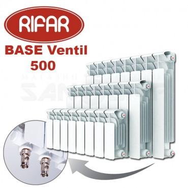 Радиатор биметаллический Rifar BASE Ventil 500