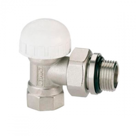 Вентиль для радиатора 1/2 угловой под термоголовку