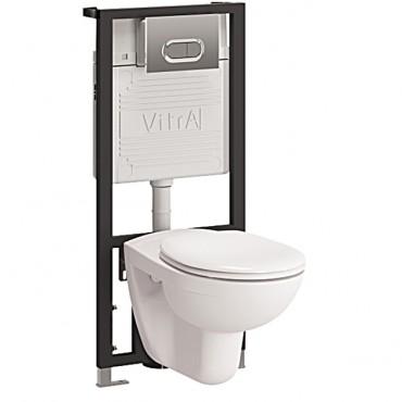 Комплект VitrA Normus 9773B003-7202 кнопка хром глянцевый