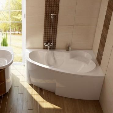 Акриловая ванна Ravak Asymmetric правая