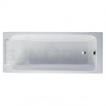 Чугунная ванна Jacob Delafon Parallel E2946 без ручек