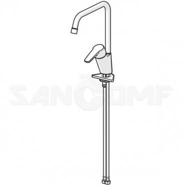 Oras Saga 3933F смеситель для кухни с высоким изливом