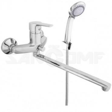 Смеситель для ванны с душем Rubineta Uno-12/G N2GD01