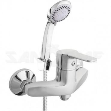 Смеситель для ванны с душем Rubineta Uno-12/K N20D01