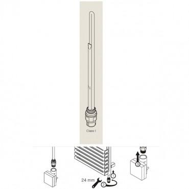 Электронагреватель TERMA-SPLIT 300-600w для полотенцесушителей