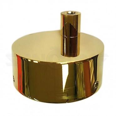 Коробка для подключения скрытой электропроводки полотенцесушителей золото