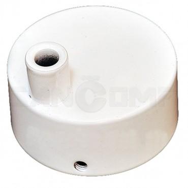 Коробка для скрытой электропроводки полотенцесушителей белая
