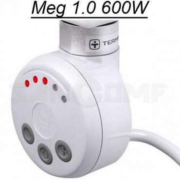 ТЭН  Terma MEG-1.0 для полотенцесушителя  600W белый