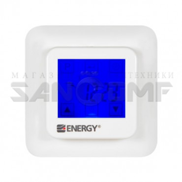 Программируемый терморегулятор Energy TK08 с сенсорным ЖК-дисплеем