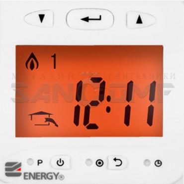 Программируемый электронный терморегулятор Energy TK03 с ЖК-дисплеем