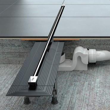 Дизайн вставка для трапа Advantix Vario диапозон от 30см до 120см матовая или глянцевая Viega