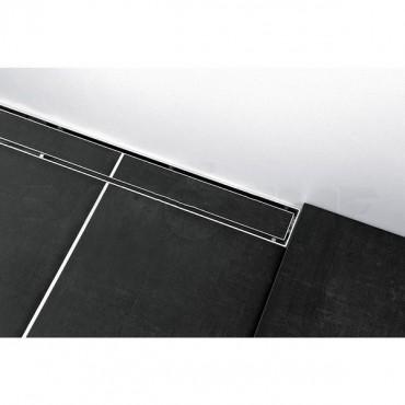 """Решетка TECEdrainlinе""""Plate""""для слива из нержавеющей стали,прямая"""