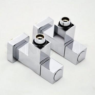 Купить вентиль угловой квадрат GROTA для полотенцесушителя