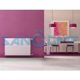 Панельные радиаторы отопления: конструкция и разновидности