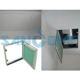 Скрытый люк под покраску: особенности конструкции и специфика применения
